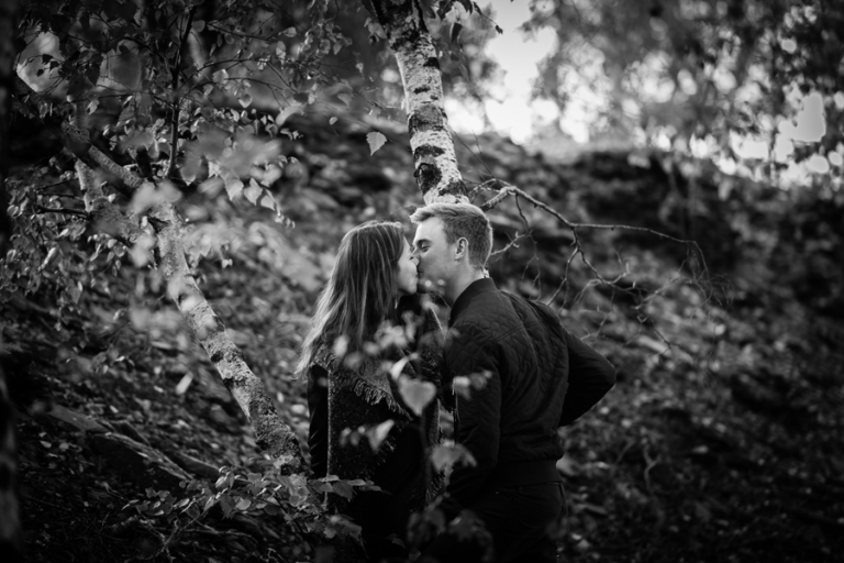 séance couple au parc des Ardoisières