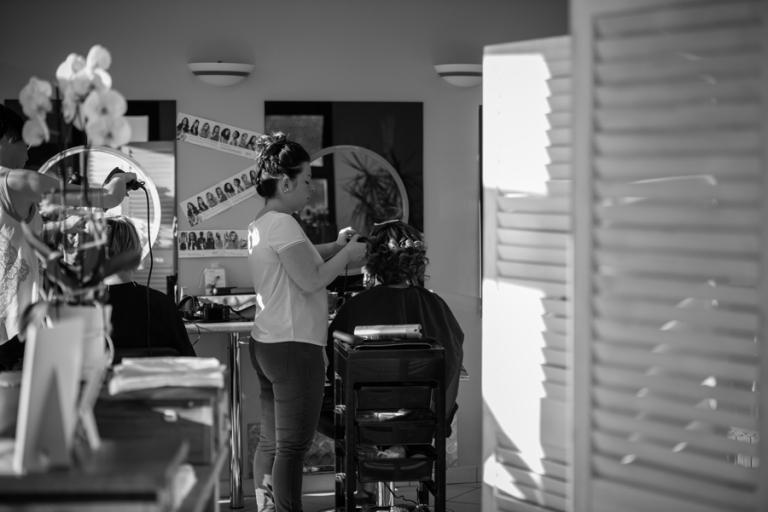 préparatifs mariage coiffure Maine et loire
