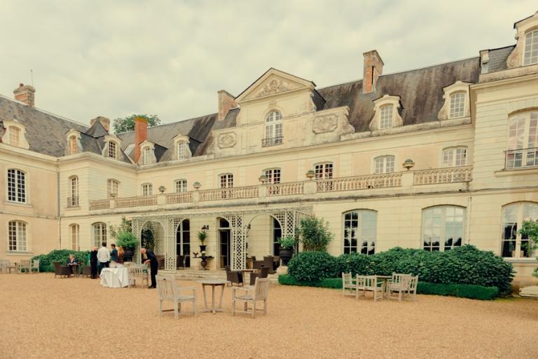 mariage au château des Briottières