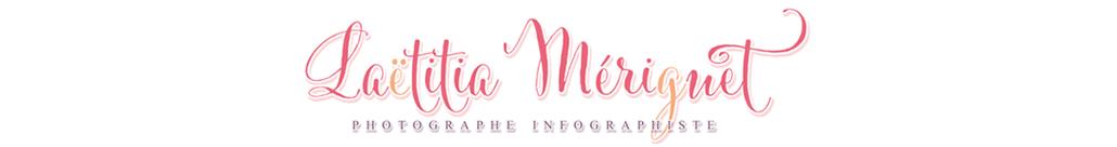 Laëtitia Mériguet – photographe mariage, grossesse, nouveaux nés Maine et Loire logo